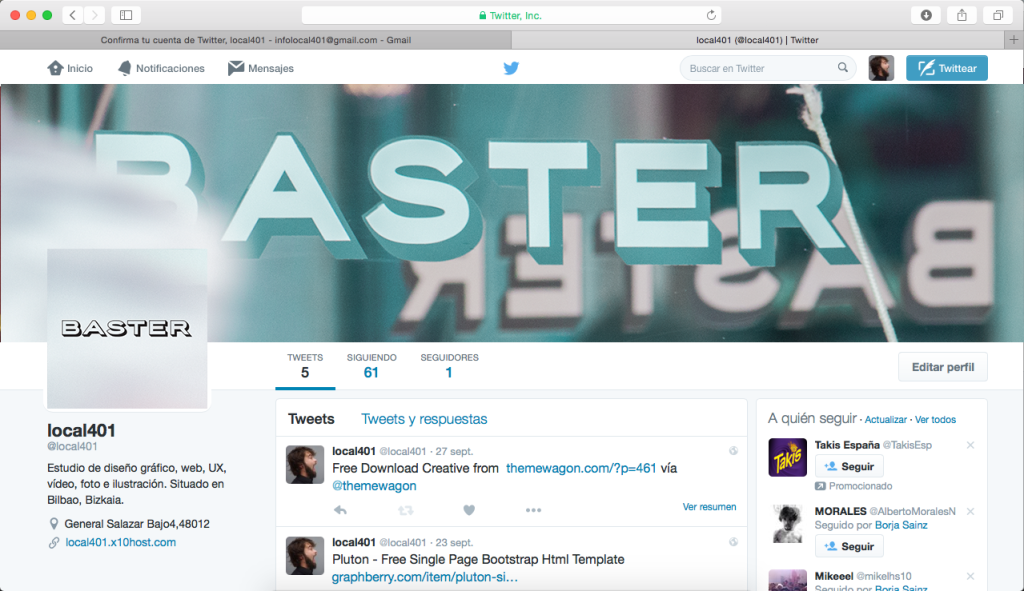PREVIEW BASTER BILBAO TWITTER LOCAL 401